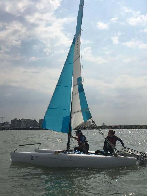 Lessen Catamaran terugkomdagen 2 S